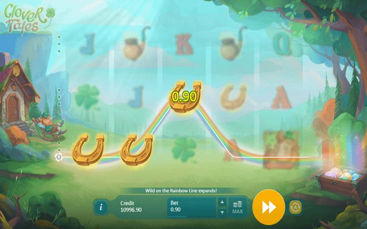 Clover Tales, Playson, Online Casino Bonus