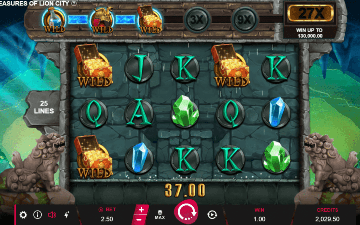 Treasure of Lion City, Microgaming, Bonus Casino