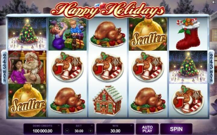Happy Holidays, Online Casino Bonus