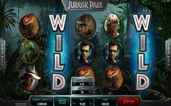 Bonus Casino, Jurassic Park