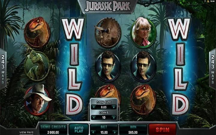 Online Casino Bonus, Jurassic Park
