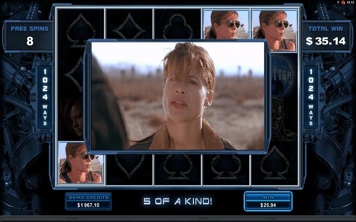 Terminator 2, Microgaming, Online Casino Bonus