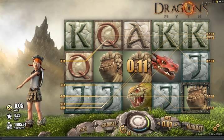 Dragons Myth, Online Casino Bonus