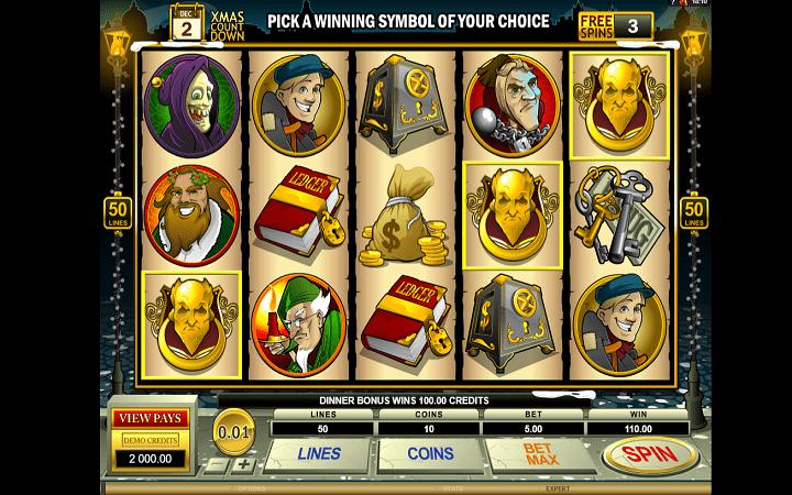 Scrooge, Microgaming, Bonus Casino