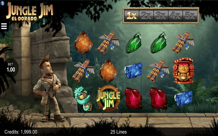 Jungle Jim El Dorado, Microgaming, Online Casino Bonus