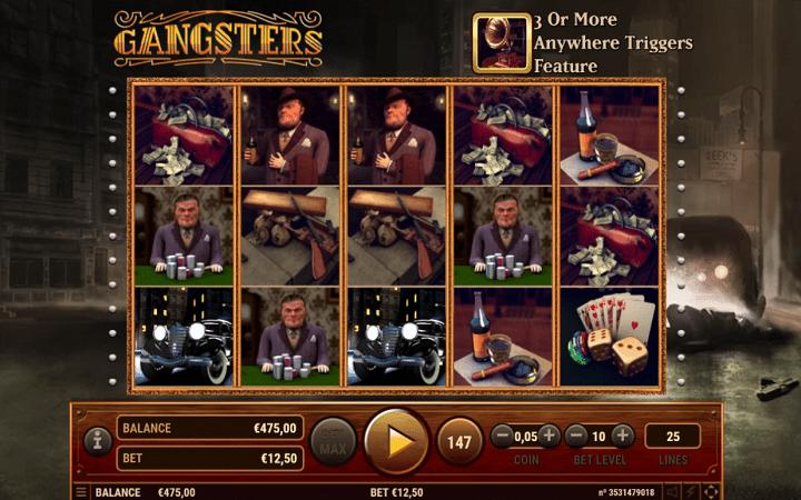 Gangsters, Habanero, Online Casino Bonus