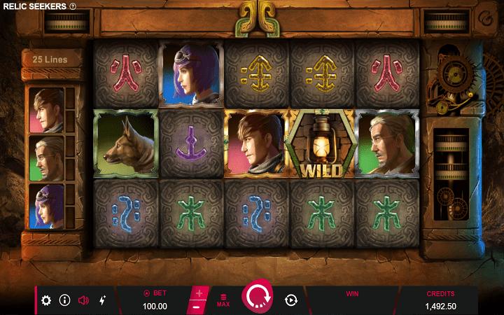Relic Seekers, Micrograming, Online Casino Bonus