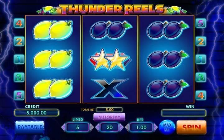 Thunder Reels, Online Casino Bonus