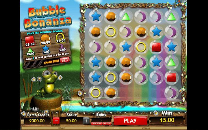 Bubble Bonanza, Microgaming, Online Casino Bonus