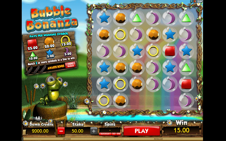 Bubble Bonanza, Microgaming, Online Casino Bonus