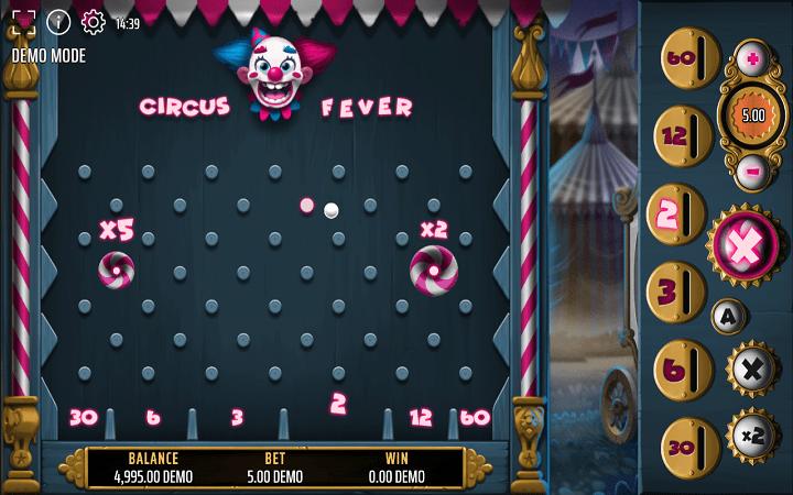 Circus Fever, Expanse, Online Casino Bonus