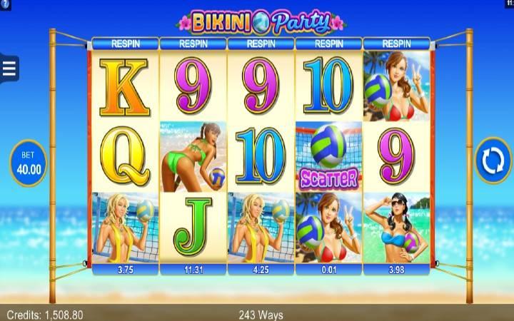 Bikini Party, Online Casino Bonus