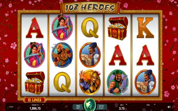 108 Heroes, Online Casino Bonus