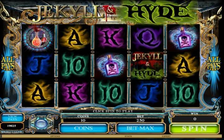 Jekyll and Hyde, Online Casino Bonus