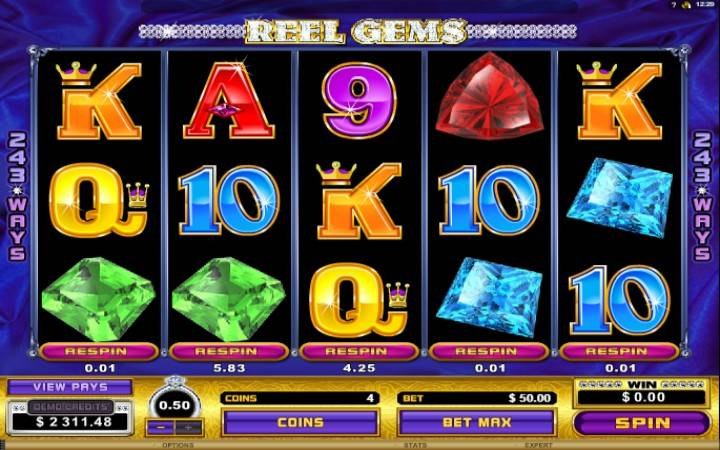 Reel Gems, Online Casino Bonus