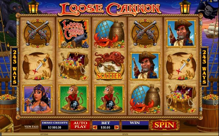 Loose Cannon, online casino bonus