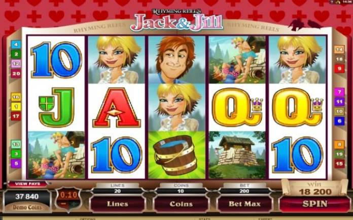 Jack and Jill, Online casino bonus
