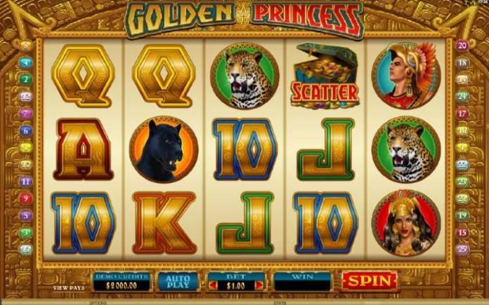 Golden Princess, Online Casino Bonus