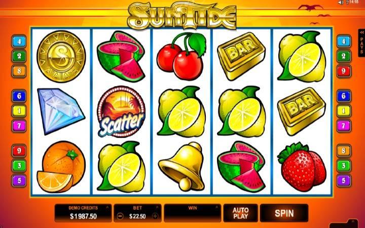 Online casino bonus, Suntide, kazino