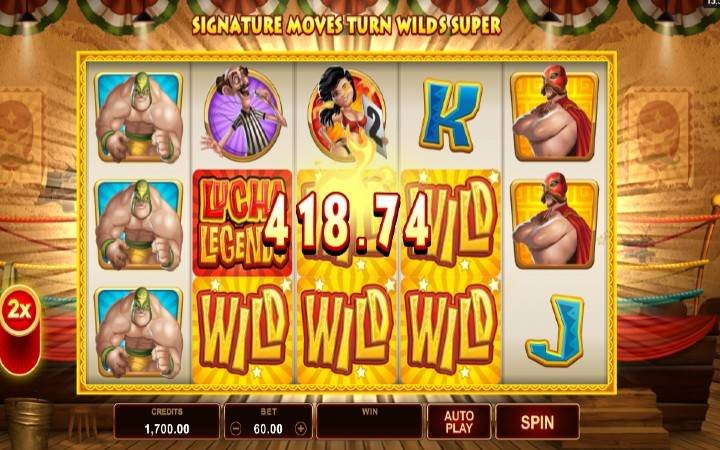 Online casino Bonus, Lucha Legends