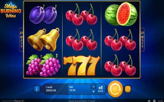 Mega Burning Wins: 27 ways, Online Casino Bonus, kazino