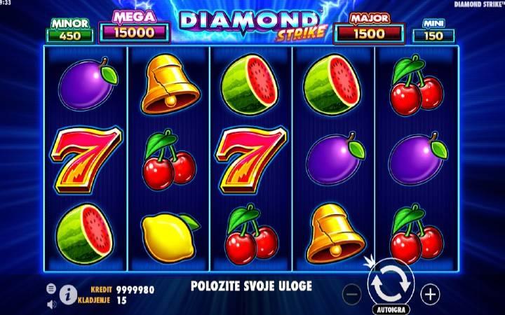 Diamond Strike, Online Casino Bonus, online kazino