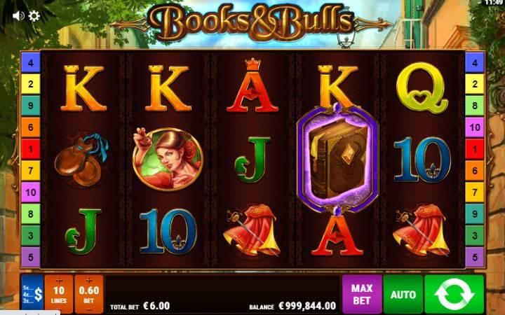 Online casino bonus, Books and Bulls