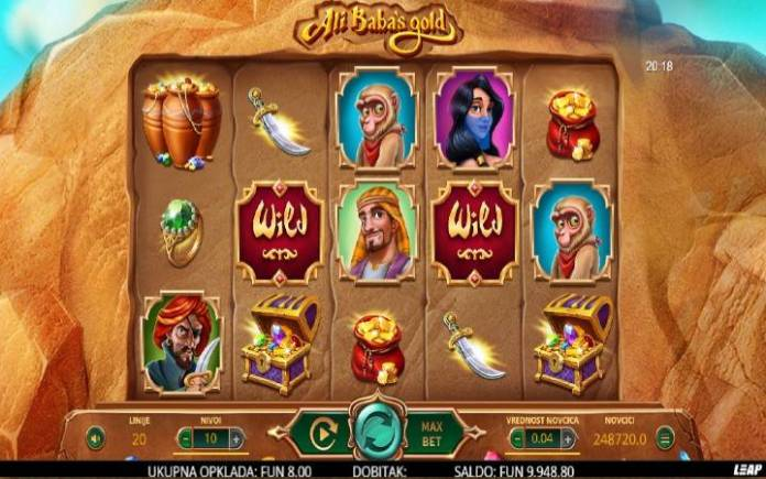 Ali Babas Gold, Online Casino Bonus