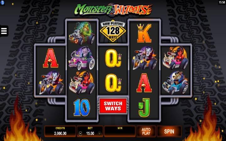 Monster Wheels, Online Casino Bonus
