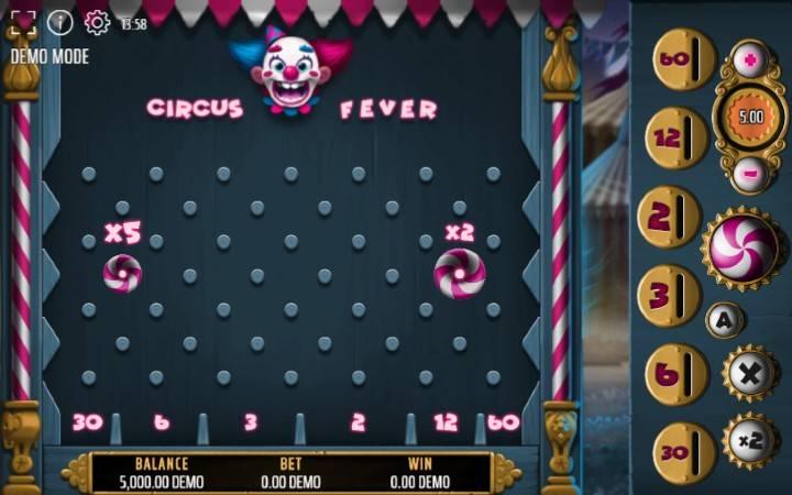 Expanse Stuidios, Circus Fever, Online Casino Bonus