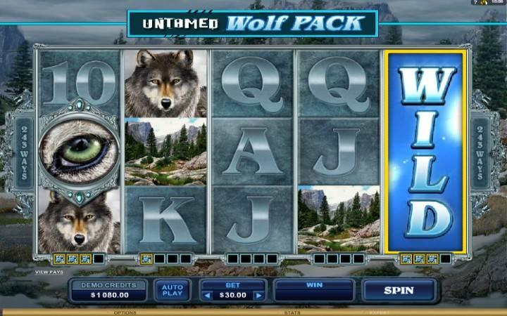 Online Casino Bonus, Untamed Wolf Pack