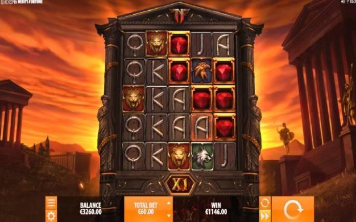 Nero's Fortune, online casino bonus
