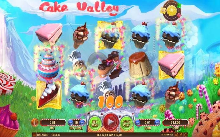 Online Casino Bonus, Cake Valley