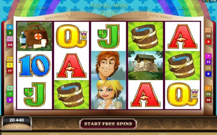 Besplatni spinovi, online casino bonus, Jack and Jill