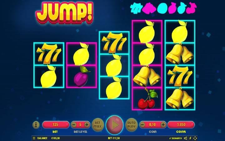 Stacked Spin, jump, online casino bonus