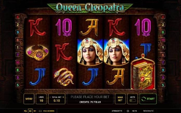 Online Casino Bonus, Queen Cleopatra