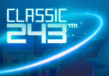 Classic 243 – neonska svetla krase klasičan online slot!