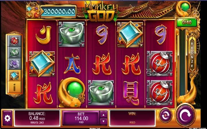 Monkey God, Bonus Casino