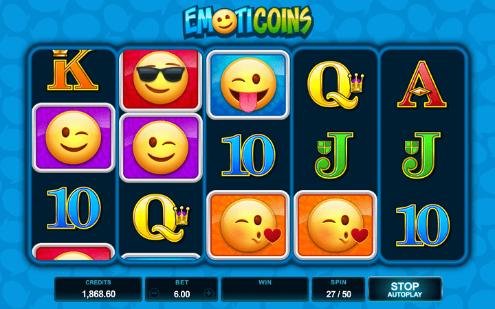 Emoticoins, Microgaming, Online Casino Bonus