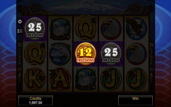 Eagle's Wings, Microgaming, Online Casino Bonus