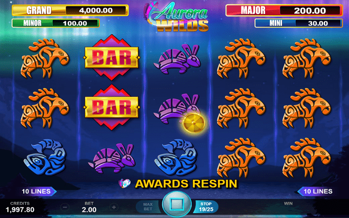 Aurora Wilds, Microgaming, Online Casino Bonus