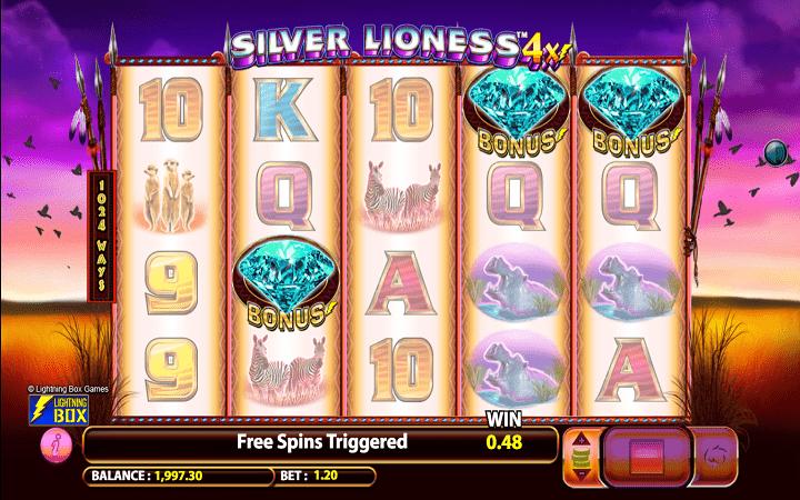 Silver Lioness, Microgaming, Online Casino Bonus