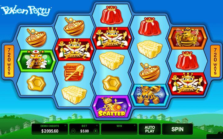 Pollen Party, Microgaming, Online Casino Bonus