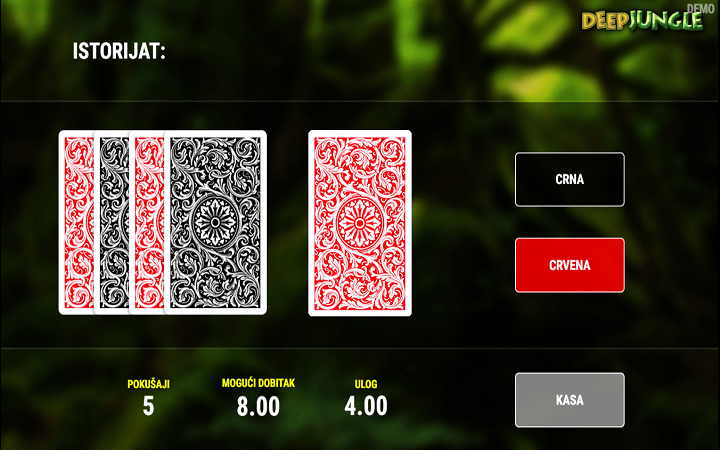 Deep Jungle, Fazi, Online Casino Bonus