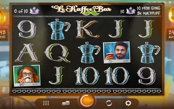 Le Kaffee Bar, Microgaming, Online Casino Bonus