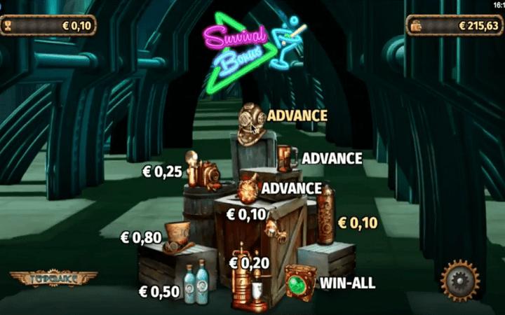 Temperance, Microgaming, Online Casino Bonus