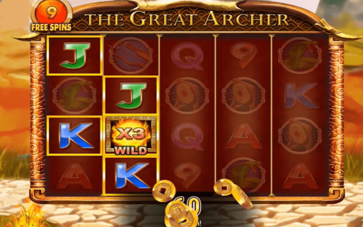 The Great Archer, Microgaming, Online Casino Bonus
