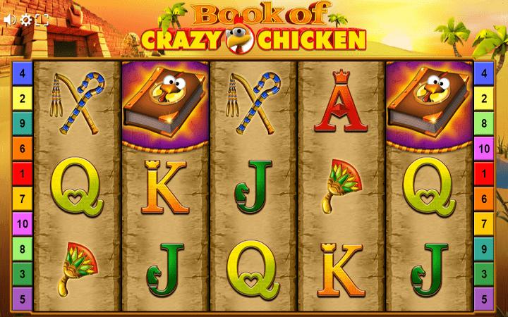 Book of Crazy Chicken, Gamomat, Online Casino Bonus