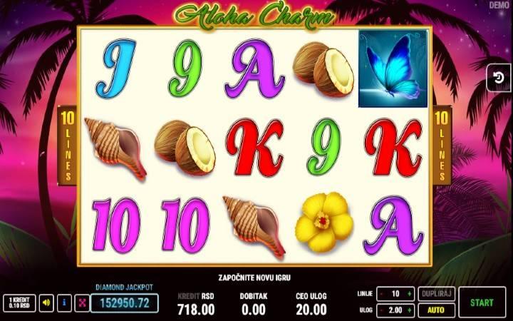 Aloha Charm, Online Casino Bonus