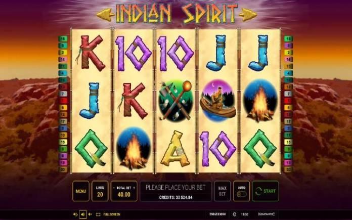 Indian Spirit, Online Casino Bonus
